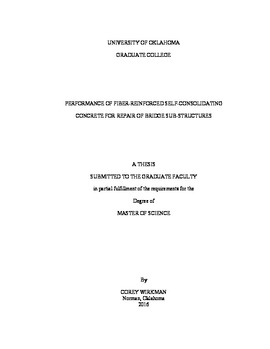 Performance of Fiber-Reinforced Self-Consolidating Concrete for