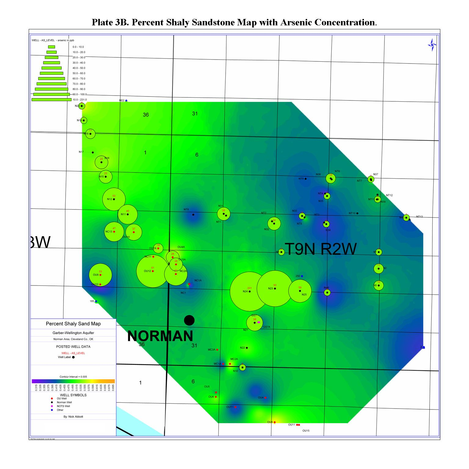 Subsurface Geology of Arsenic-Bearing Permian Sedimentary